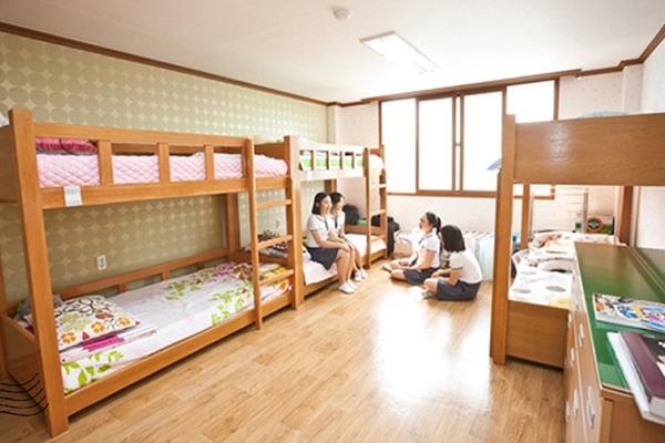 Hầu hết, tại các trường đại học ở Hàn Quốc đều có KTX tiện nghi, hiện đại dành cho sinh viên quốc tế.