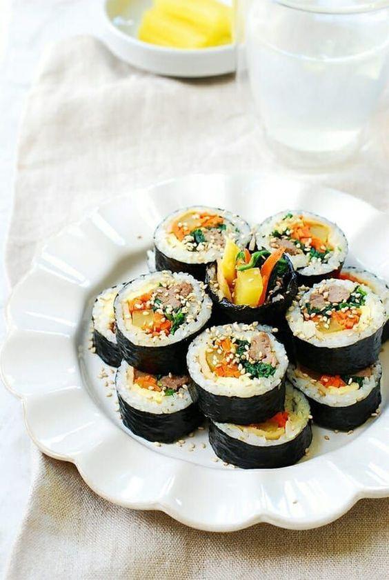 Kimbap chuẩn vị Hàn
