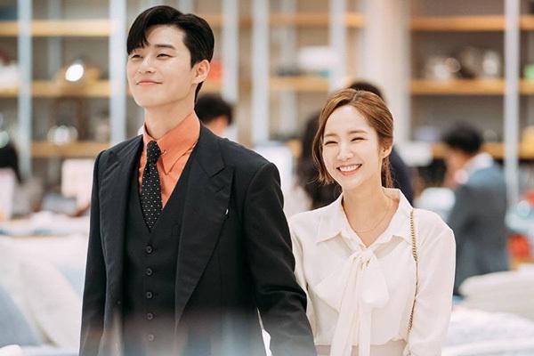 Park Min Young và Park Seo Jun