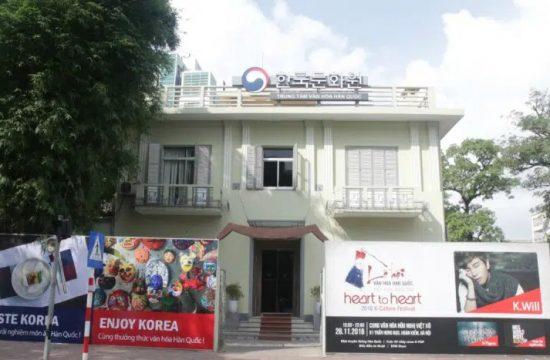 TRung tâm văn hoa Hàn Quốc tại Việt Nam ở đâu