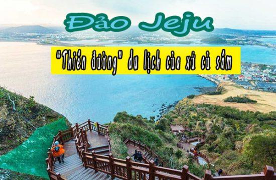 """Khám phá đảo Jeju """"thiên đường"""" du lịch của xứ củ sâm"""