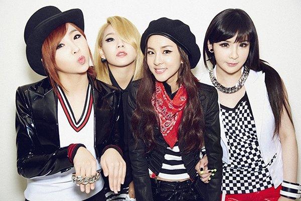 nhóm nhạc nữ hàn quốc 2NE1