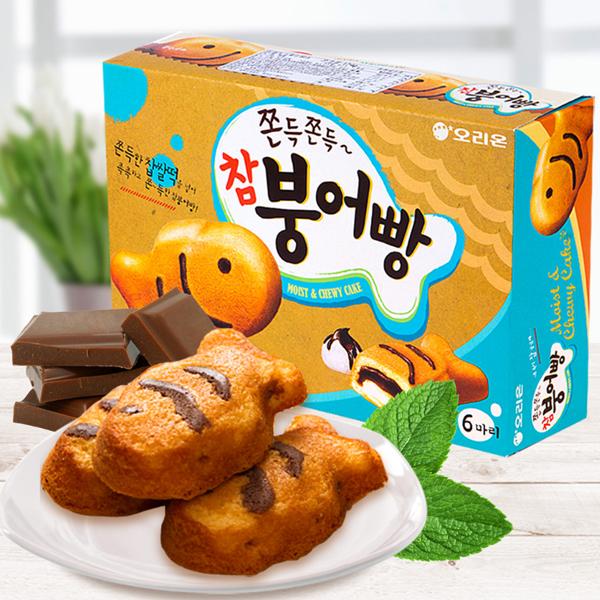 Bánh cá chép Orion món ăn vặt Hàn Quốc đỉnh cao khiến con dân mê muội