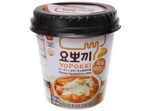 Đồ ăn vặt Hàn Quốc đóng gói bánh gạo cay