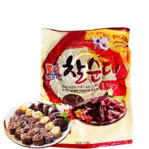 Sundae hay còn được gọi với cái tên khác là xúc xích Hàn Quốc