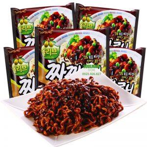 Mì Hàn Quốc mì trộn Samyang Olive oil