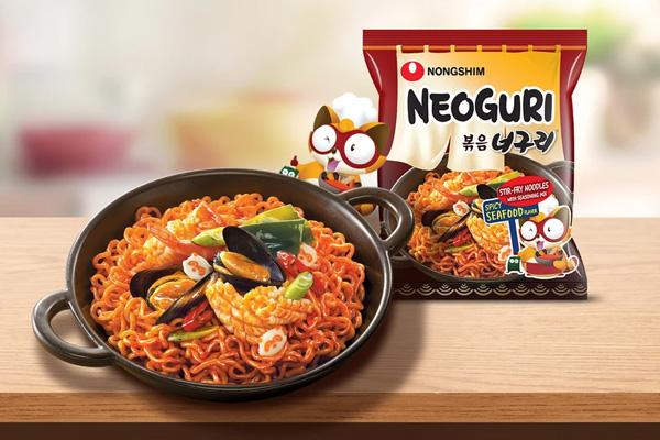 Mì xào khô Nongshim Neoguri hải sản cay