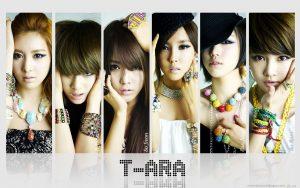 nhóm nhạc nữ Hàn Quốc T-ARA
